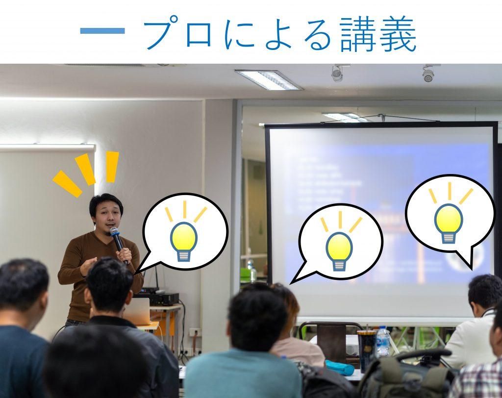 プロによる講義での受講者の集中力を計測