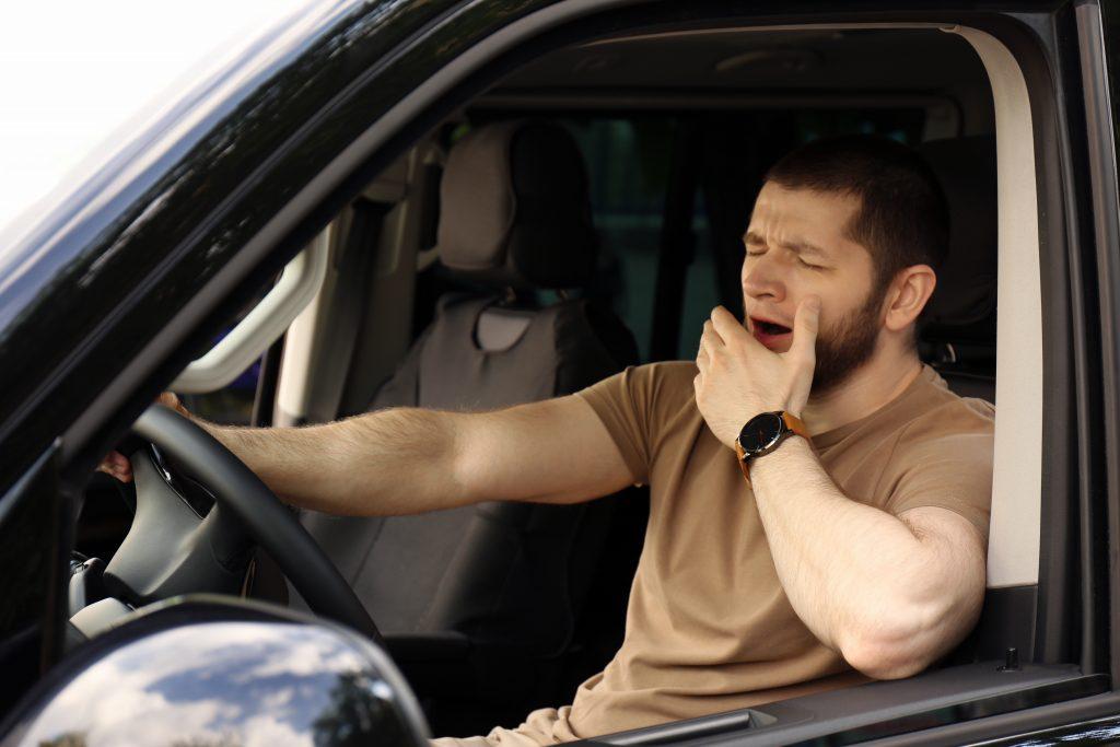 居眠り運転防止